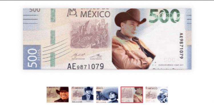 Cantantes Gruperos ¿son la Imagen de los Nuevos Billetes de 500 Pesos?