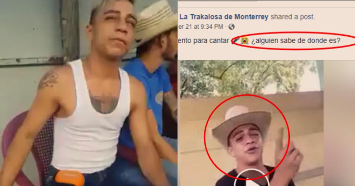 Lo Grabaron Cantando Borracho, Se Viralizó Y Ahora Lo Busca La Trakalosa De Monterrey Para Que Cante Con Ellos