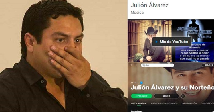 Siguen Las Restricciones Legales Para Julión Álvarez En Plataformas Digitales