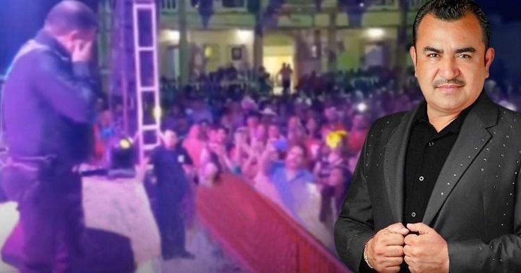 """Tony Meléndez del """"Conjunto Primavera"""" llora al perder la voz en plena presentación"""