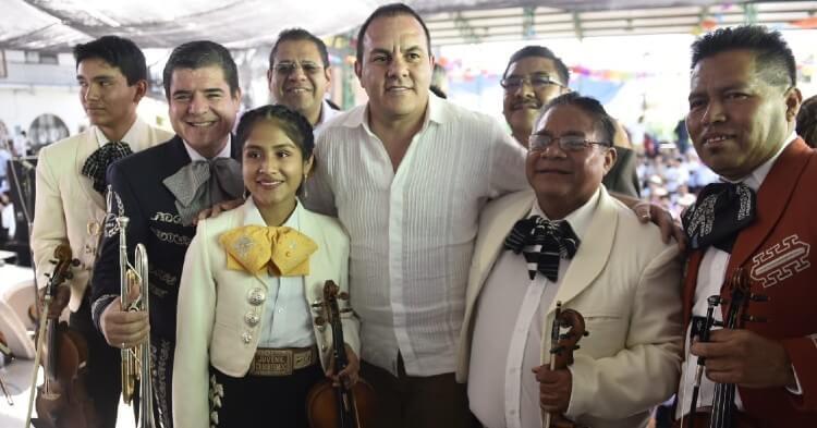 Así canta Cuauhtémoc Blanco canción de Juan Gabriel en celebración del día del Mariachi