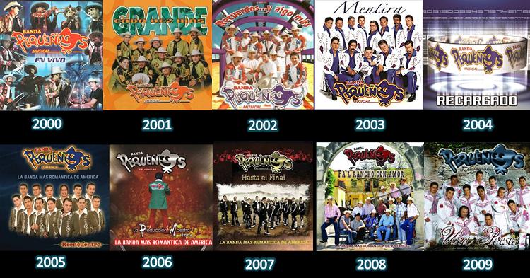 Discografía de Banda Pequeños Musical